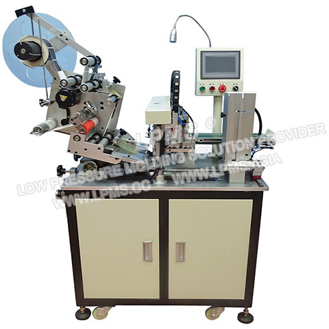 TS-T8 Four Sides Automatic labeling machine for batteries